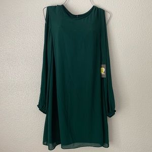NWT Vince Camuto Emerald Green Dress